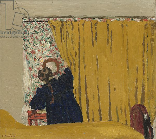 The Yellow Curtain, c.1893