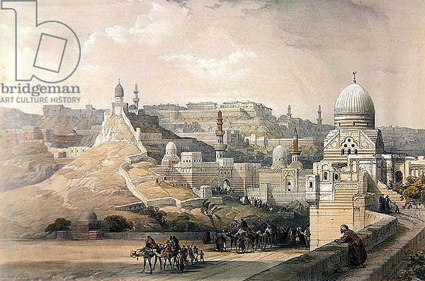 The Citadel of Cairo, Residence of Mehmet Ali, from