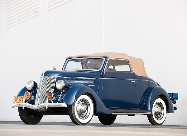 Ford V8 Deluxe Cabriolet (68) '1936