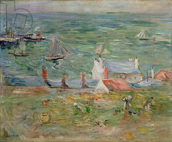 The Port of Gorey on Jersey, 1886