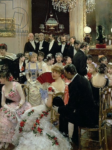 The Soiree, c.1880 2