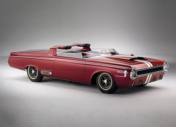 Dodge Charger Roadster Concept Car '1964