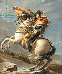 Постер Давид Жак Луи Napoleon Crossing the Alps at the St Bernard Pass, 20th May 1800, c.1800-01