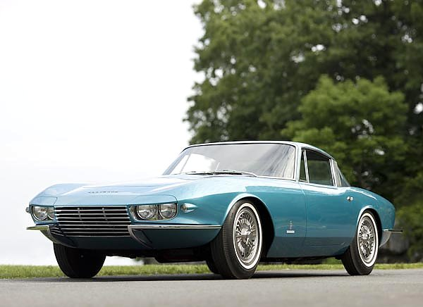 Corvette C2 Rondine Coupe '1963 дизайн Pininfarina