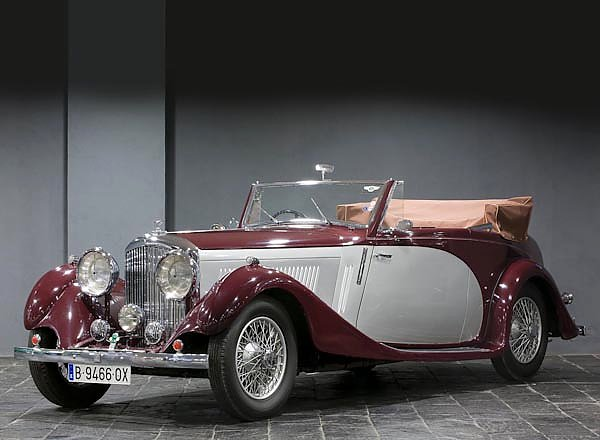 Bentley 3 1 2 Litre Drophead Coupe by Young '1935