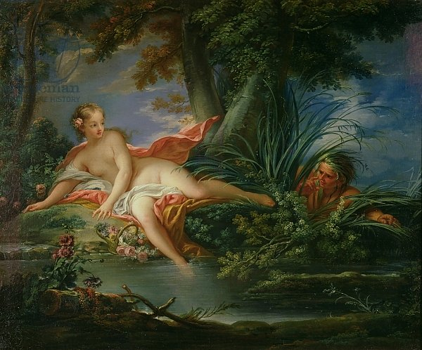 The Bather Surprised
