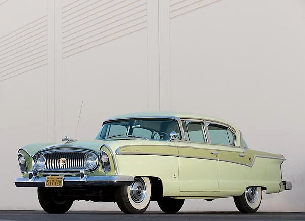 Постер Nash Ambassador Custom Sedan '1956