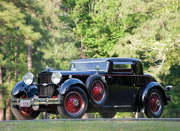 Stutz Model M Supercharged Lancefield Coupe '1929–30