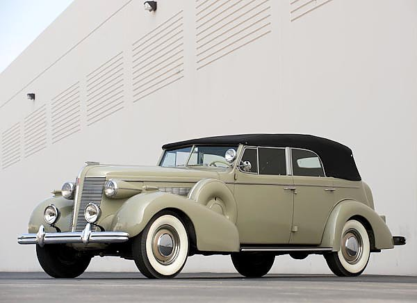 Buick Roadmaster Convertible Sedan (80) '1937