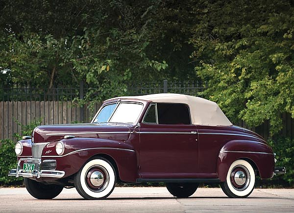 Ford Super Deluxe Convertible Coupe (11A) '1941