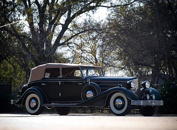 Cadillac V16 Convertible Phaeton by Fleetwood '1933