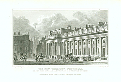 Постер The New Treasury, Whitehall