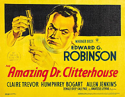 Постер Poster - Amazing Dr. Clitterhouse, The