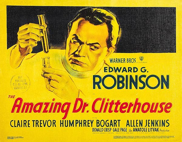 Poster - Amazing Dr. Clitterhouse, The