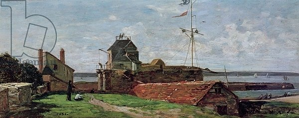 The Francois Ier Tower at le Havre, 1852