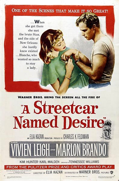 Poster - A Streetcar Named Desire
