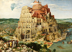 Постер Брейгель Питер Старший Tower of Babel, 1563