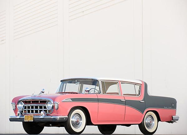 Hudson Rambler Custom 4-door Sedan '1956