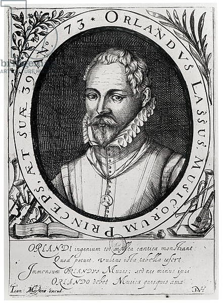 Portrait of Roland de Lassus