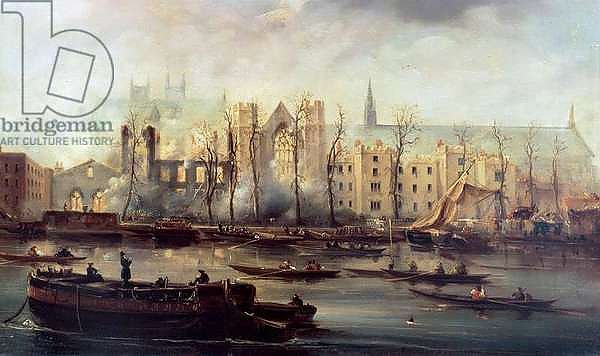 The Burning of the Houses of Parliament, 16th October 1834