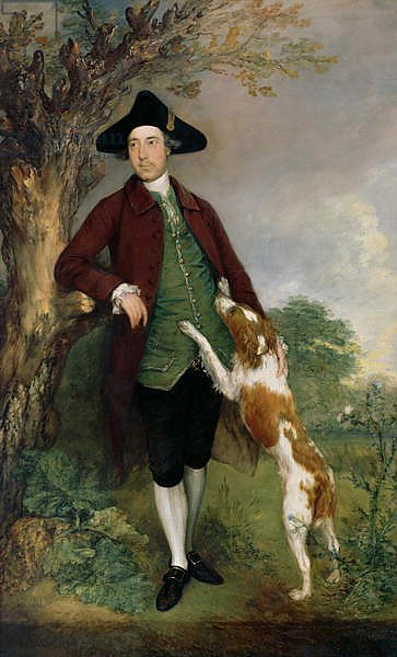 Portrait of George Venables Vernon, 2nd Lord Vernon, 1767