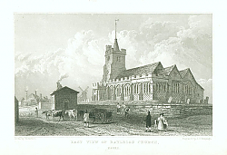 Постер East View of Rayleigh Church, Essex
