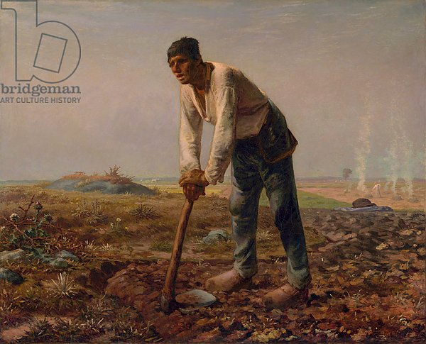 Man with a Hoe, c.1860-62