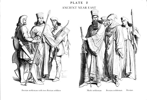 Perses et Mèdes, Plate 2b Persians and Medes