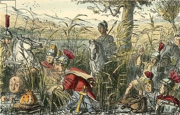 Marius discovered in the Marshes at Minturnae