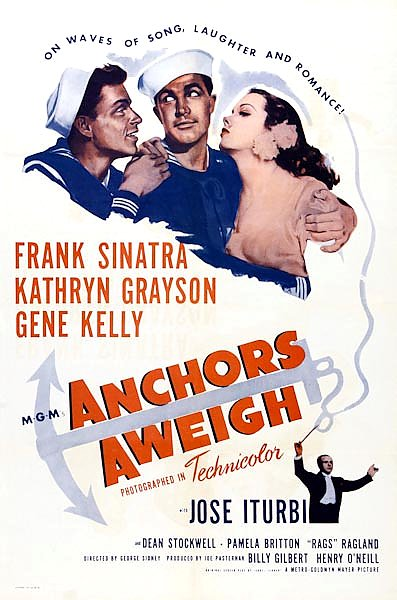 Poster - Anchors Aweigh