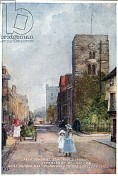 Постер Мэттисон Вильям Saxon Tower, St Michael's Church, Cornmarket St