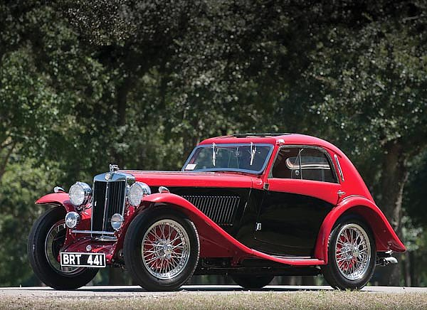 MG NB Magnette Airline Coupe by Allingham '1935