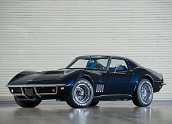 Постер Corvette Stingray L36 427 Coupe (C3) '1969