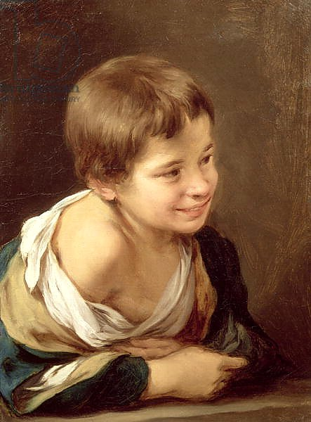 A Peasant Boy Leaning on a Sill, 1670-80