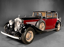 Постер Rolls-Royce Phantom Touring Saloon by Park Ward (II) '1934