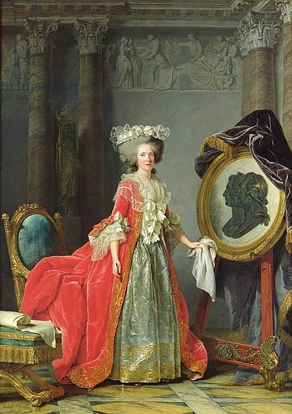 Portrait of Adelaide de France, 1787