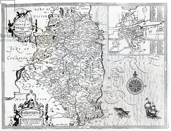 The County of Leinster with the City of Dublin Described, 1611-12