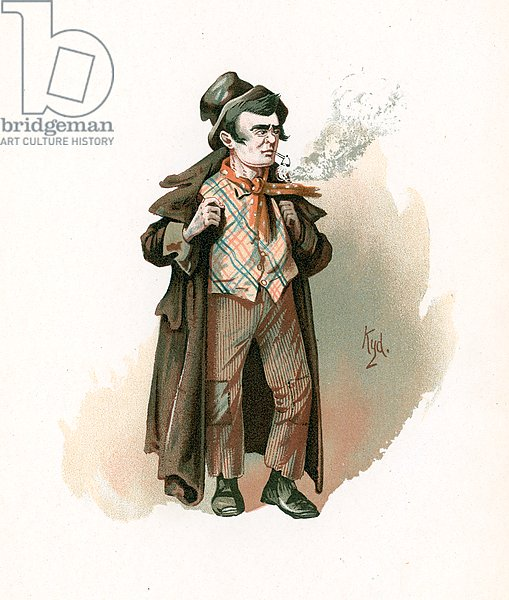 The Artful Dodger, illustration from 'Character Sketches from Charles Dickens', c.1890
