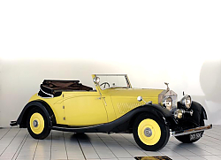 Постер Rolls-Royce 20 Drophead Coupе '1926