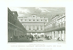 Постер London Horse & Carriage Repository, Grays Inn Road