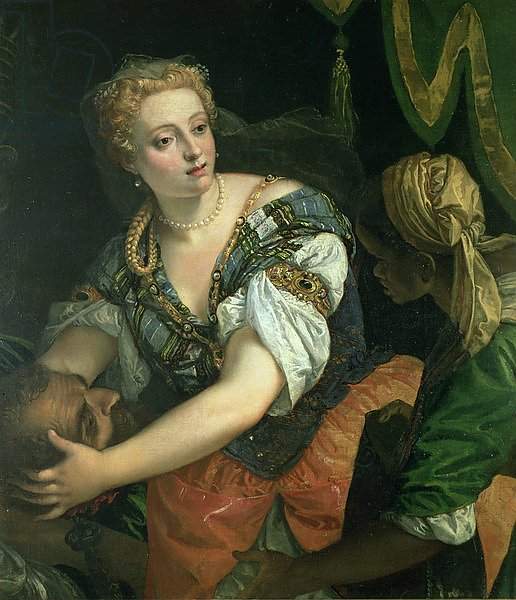 Judith with the head of Holofernes, 1582