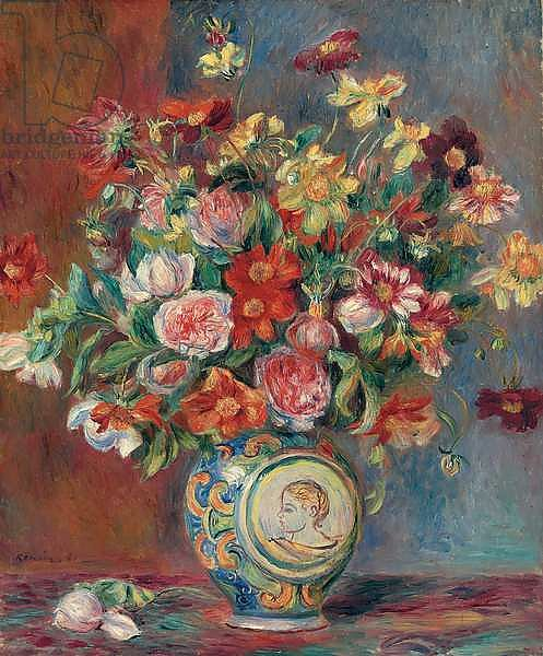 Vase with Flowers; Vase de fleurs, 1881