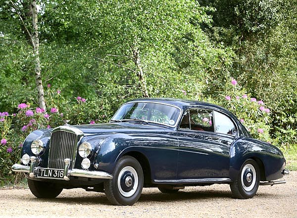 Bentley R-Type Continental Sports Saloon by Mulliner '1954