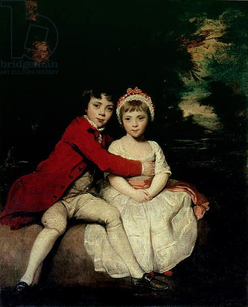 John Parker and his sister Theresa, 1779