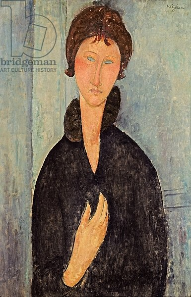 Woman with Blue Eyes, c.1918 2