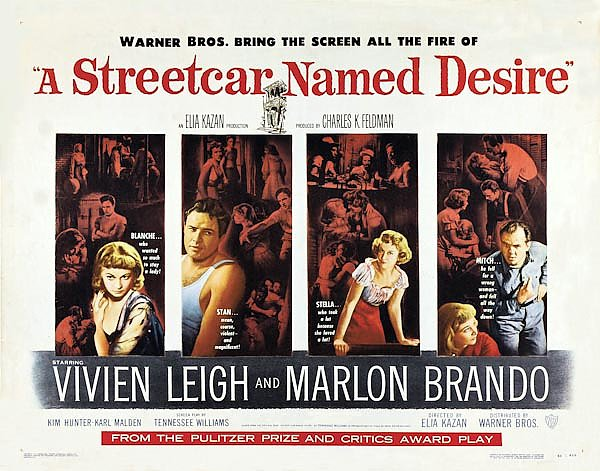 Poster - A Streetcar Named Desire 3