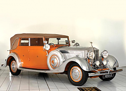 Постер Rolls-Royce Phantom 40 50 Cabriolet ''Star of India'' (II) '1934