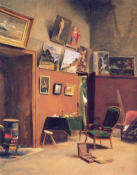 Studio in the rue de furstenberg