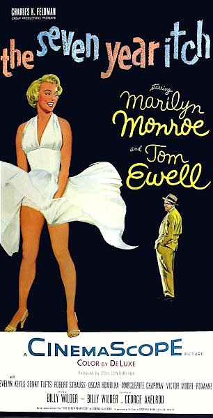 Poster - Seven Year Itch, The 2