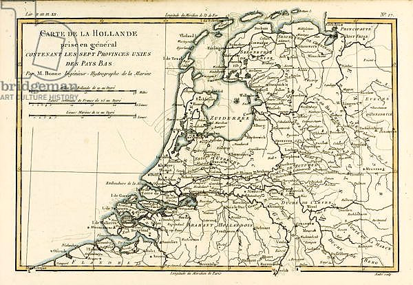 Holland Including the Seven United Provinces of the Low Countries, 1780